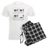 Dream Home Men's Light Pajamas