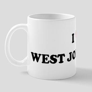 I Love West Jordan Mug