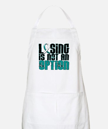 Losing Is Not An Option Cervical Cancer Apron