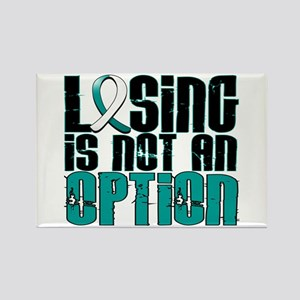 Losing Is Not An Option Cervical Cancer Rectangle