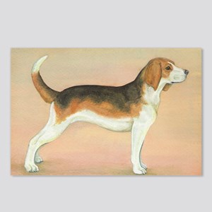 Hand-painted Hound Postcards (Package of 8)