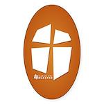 Iglesia Del Maestro (Ico-Orn) Sticker (Oval)
