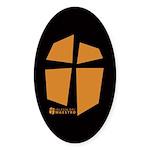 Iglesia Del Maestro (Ico-Orn) Sticker (Oval 10 pk)