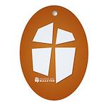 Iglesia Del Maestro (Ico-Orn) Ornament (Oval)