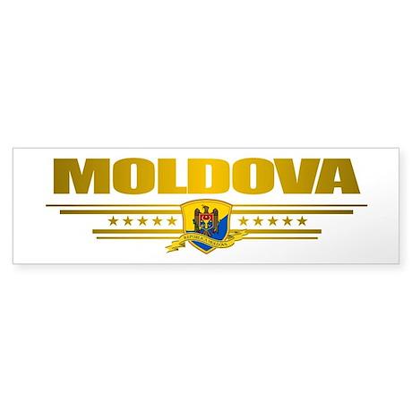 Moldova Pride Sticker (Bumper)