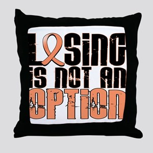 Losing Is Not An Option Endometrial Cancer Throw P