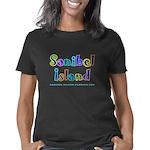 Sanibel_Type-Drk Women's Classic T-Shirt