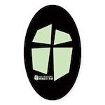 Iglesia Del Maestro (Ico-LGr) Sticker (Oval 10 pk)