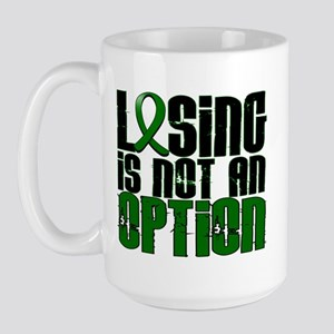 Losing Is Not An Option Liver Cancer Large Mug