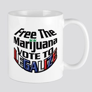 Free The Marijuana Mug