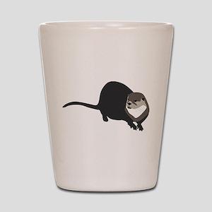 River Otter Shot Glass