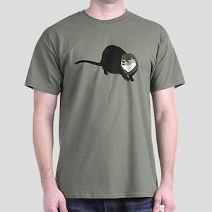 River Otter Dark T-Shirt