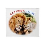 Eat Prey. Love. Throw Blanket