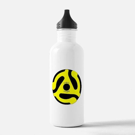 Vinyl Lives Water Bottle