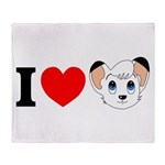 I Love ... Throw Blanket