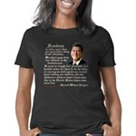 Reagan Freedom Quote d Women's Classic T-Shirt