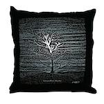 Barren Twilight Throw Pillow