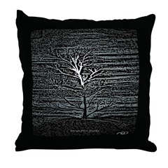 Barren Twilight Throw Pillow