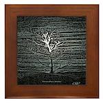 Barren Twilight Framed Tile