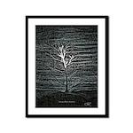 Barren Twilight Framed Panel Print