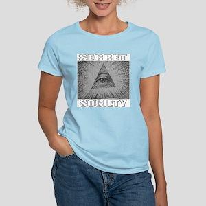 Secret Society Women's Pink T-Shirt