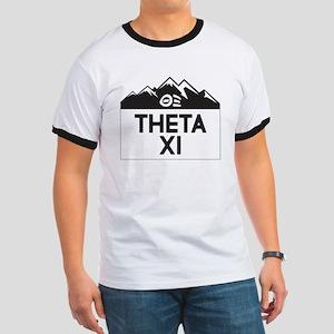 Theta Xi Mountains Ringer T
