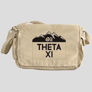 Theta Xi Mountains Messenger Bag
