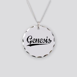 Genesis Necklace Circle Charm