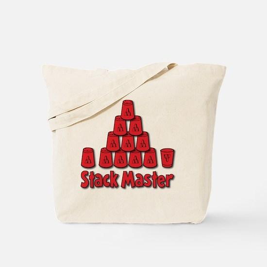 Stack Master Tote Bag (on both sides)