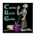 celtic skeleton Tile Coaster