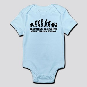 Evolution went wrong Infant Bodysuit