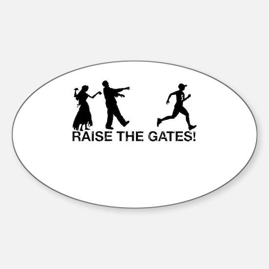 Raise the Gates Runner 5 Decal