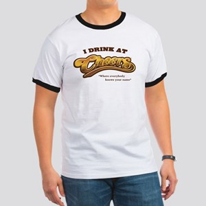 'I Drink At Cheers' Ringer T