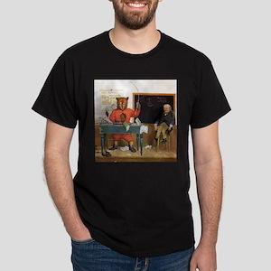 Roosevelt Bear Substitute Teacher Dark T-Shirt