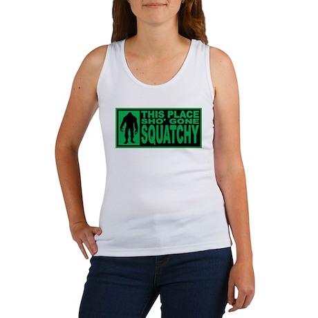 Gone Squatchy - Finding Bigfoot Women's Tank Top