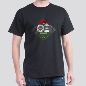 Theta Xi Mountain Diamond Dark T-Shirt