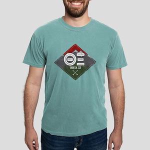 Theta Xi Mountain Diam Mens Comfort Color T-Shirts