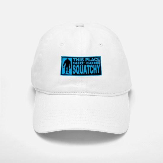 Gone Squatchy - Finding Bigfoot Baseball Baseball Cap
