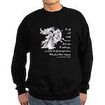 Girl in a Garden Sweatshirt (dark)