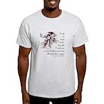 Girl in a Garden Light T-Shirt