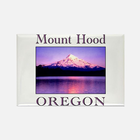 Cute Mountain sunset Rectangle Magnet
