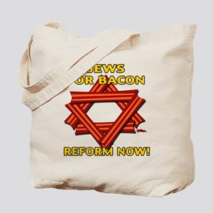 BACON REFORM NOW! Tote Bag