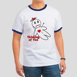 Anti Valentine Voodoo Doll Ringer T