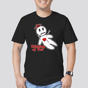Anti Valentine Voodoo Doll Men's Fitted T-Shirt (d