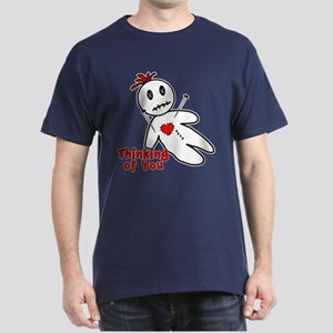 Anti Valentine Voodoo Doll Dark T-Shirt