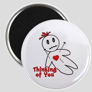 Anti Valentine Voodoo Doll Magnet