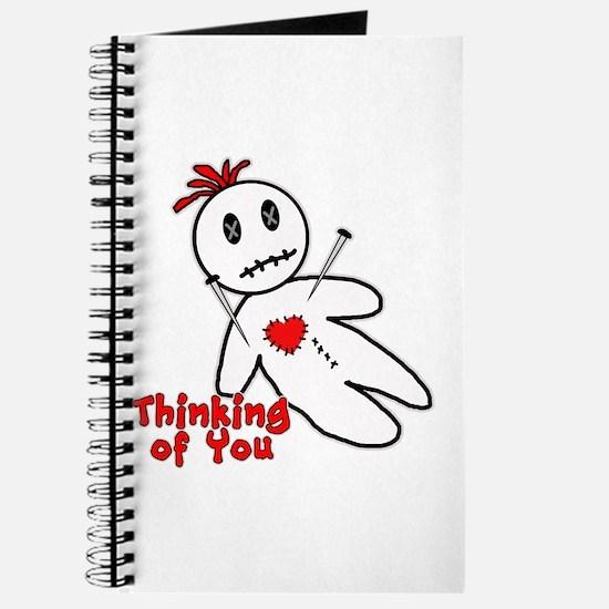 Anti Valentine Voodoo Doll Journal