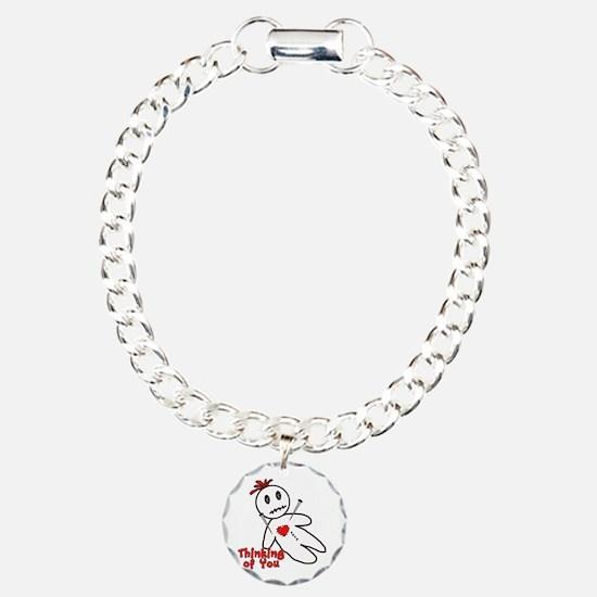 Anti Valentine Voodoo Doll Bracelet