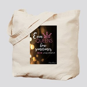 Even Queens Bow Tote Bag