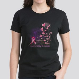 Breast Cancer Awareness Women's Dark T-Shirt